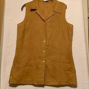 Ishyu 100% linen tunic size XL